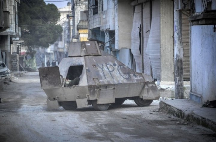 Kobani'de silah sesi yerine 'izi' kaldı