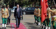 Cumhurbaşkanı Erdoğan Etiyopya'da törenle karşılandı