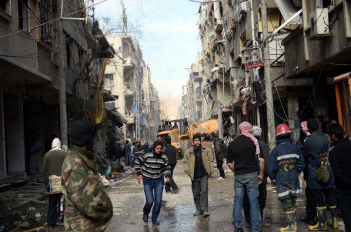 Esad Duma'da katliam yaptı