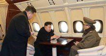 Kuzey Kore lideri Kim'in uçağı ilk kez görüntülendi