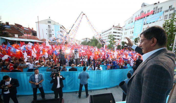 Başbakan Davutoğlu Bolu'da