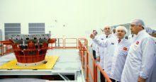 Cumhurbaşkanı Erdoğan Türkiye'nin ilk uydu merkezi açılışına katıldı