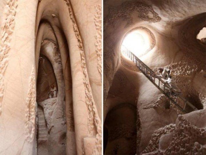 Tam 10 yıl mağara kazd,! Öyle bir şey buldu ki