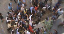 Çantasından IŞİD flaması çıkan gence linç girişimi