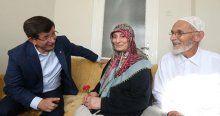 Başbakan Davutoğlu'nun, çocukluğunun geçtiği evi ziyareti