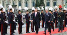Cumhurbaşkanı Recep Tayyip Erdoğan Belçika'da
