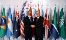 Erdoğan ve Obama biraraya geldi