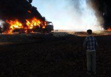 Rus savaş uçakları insani yardım araçlarına saldırdı