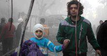 Rus uçakları okula saldırdı