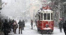 Meteoroloji uyardı, kuvvetli kar ve fırtınaya dikkat