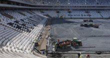 Vodafone Arena'da son durum