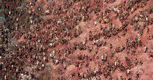 Yüz binlerce insanın çalıştığı karınca yuvası