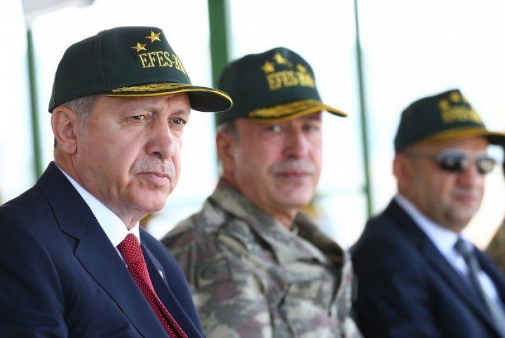 Cumhurbaşkanı ve Başbakan Efes 2016 Tatbikatı'nda