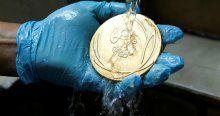 Rio Olimpiyat Oyunları'nın madalyaları böyle hazırlandı