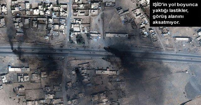 Musul'un uydu fotoğrafları