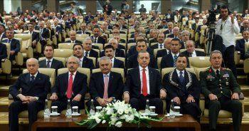 Liderler AYM'de bir araya geldi