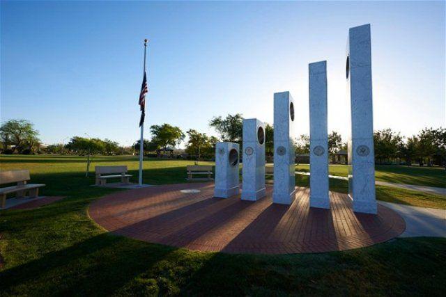 İlginç gaziler anıtı