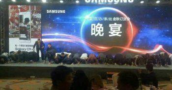 Samsung diz çöktü