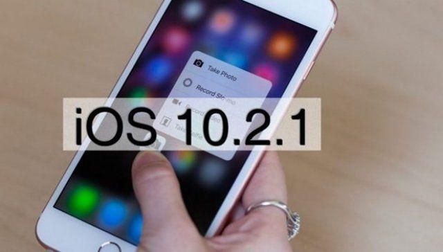 iOS 10.2.1 güncellemesi yayınlandı