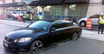 İlginç araba kazaları