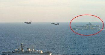 Rus filosu ve İngiliz ordusu arasında sansasyonel anlar!
