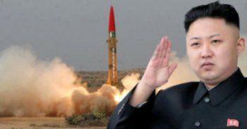 Kuzey Kore yine füze fırlattı!