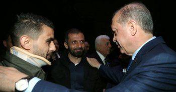Erdoğan'ın Külliye'de görüştüğü kişi bakın kim çıktı