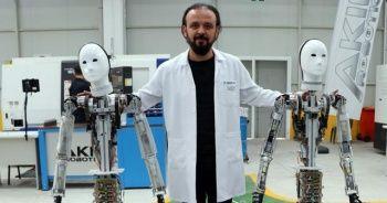 Türkiye'nin ilk insansı robotlarının seri üretimine başlandı.