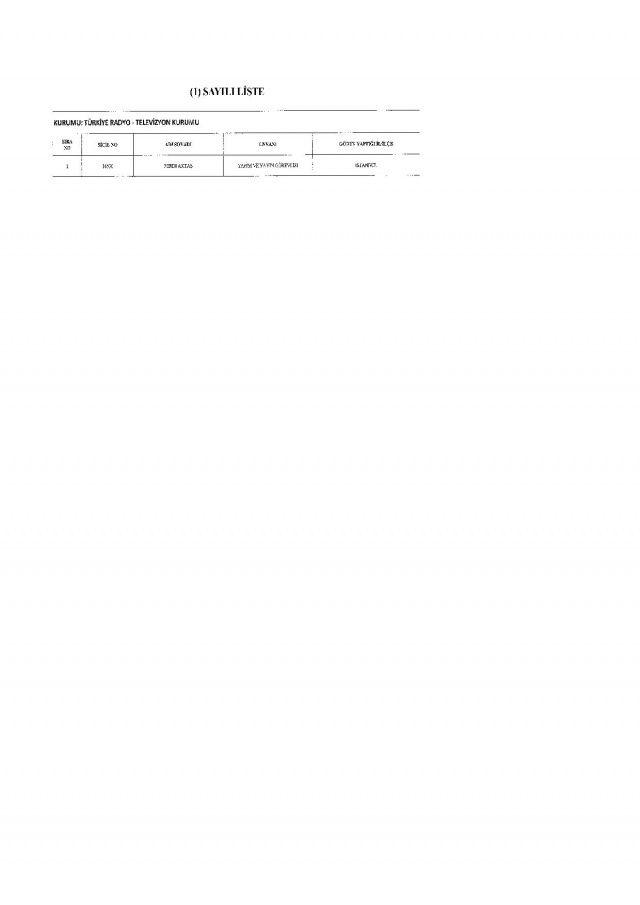 İşte 697 sayılı yeni KHK ile göreve iade edilen 1823 kişinin listesi