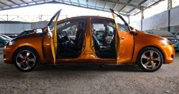 71 yaşındaki ustadan çift taraflı araba