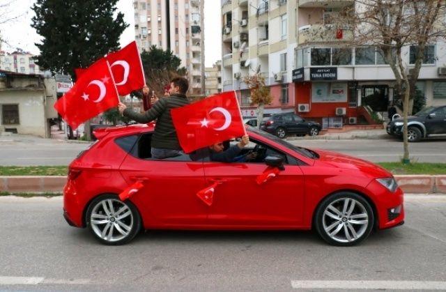 Mehmetçiğe destek konvoyu