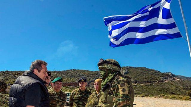 Yunan bakandan küstah tehdit!