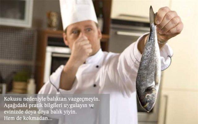 Evdeki balık kokusu nasıl yok edilir?