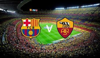 Barcelona Roma Maçı Şifresiz Canlı izle | Barcelona - Roma şifresiz veren kanallar