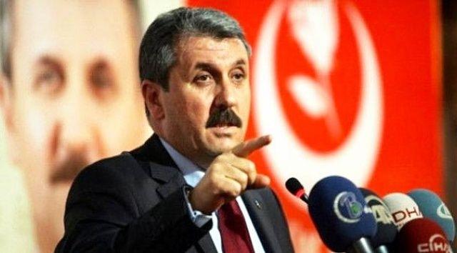 BBP'den 'Cumhur İttifakı' açıklaması