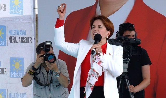 Meral Akşener, Aydın'da hedeflenen kalabalığı toplayamadı