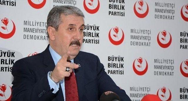 Mustafa Destici'den BBP seçmenine uyarı