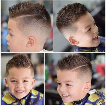 2018 Erkek çocuk saç modelleri