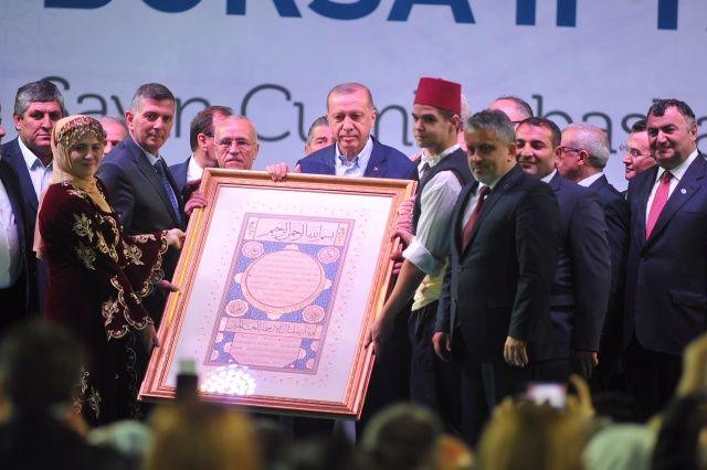 Cumhurbaşkanı Erdoğan'dan yerli otomobil müjdesi