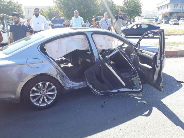 AK Partili isimden kötü haber! Kaza geçirdi