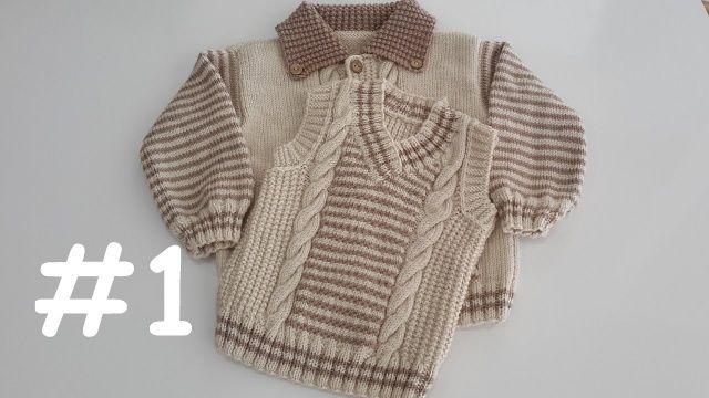 2018 Erkek Bebek Süveter Modelleri