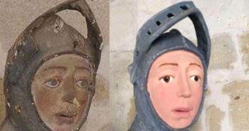 İspanya'da 16. Yüzyıldan Kalma Heykel Restorasyon Kurbanı Oldu