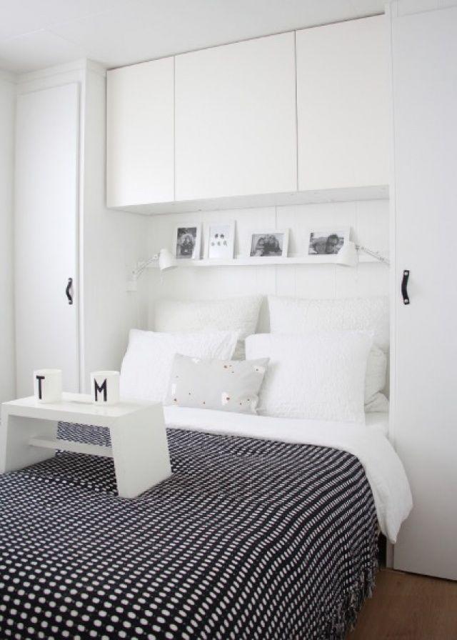 Küçük Alanlar için Yatak Odası Fikirleri