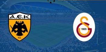 AEK-Galatasaray maçı kaç kaç bitti? AEK-Galatasaray maçı özeti golleri izle