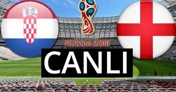İngiltere Hırvatistan maçı şu an kaç kaç? Şifresiz canlı izle