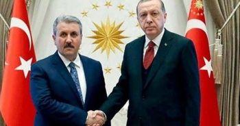 Erdoğan ile görüşmesinin ardından açıkladı! BBP lideri bakan olacak mı?