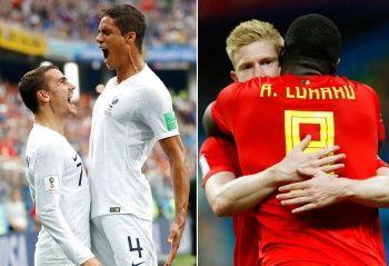 Fransa Belçika maçı şu an kaç kaç? Fransa Belçika maçı şifresiz izle