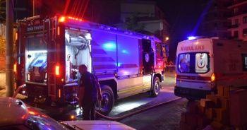 İzmir'de sıcak saatler, çok sayıda ekip orada