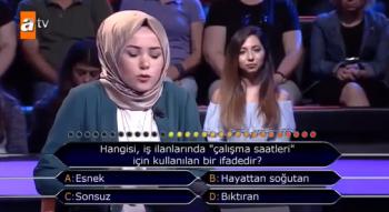 Kim Milyoner Olmak İster'de yarışmacının joker kullandığı soru şaşkına çevirdi