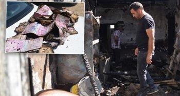 Sandıkta sakladığı 150 bin lirası kül oldu